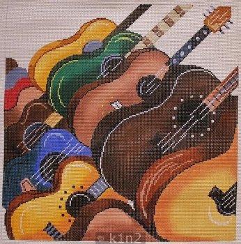 PM8255 LARGE GUITARS by Patti Mann