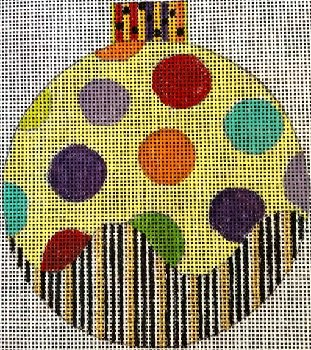 PMcL 644 DOTS ORNAMENT by Penny McLeod