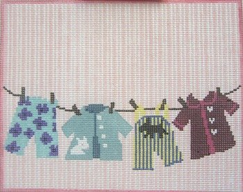ACOD C20 Little Girl Laundry Line by Patty Paints