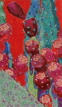 CRIMSON FRUIT by Purple Palm Designs STITCH GUIDE PPD125sg