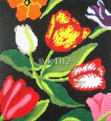 PPLP450-TULIPS PURSE by Patty Paints