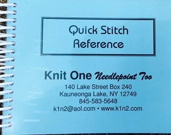 QUICK STITCH REFERENCE GUIDE BOOK-QSR