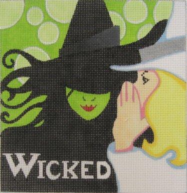 WICKED by Raymond Crawford Designs RCQT150sg Stitch Guide