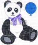 RA203-PANDA BEAR by Rachel