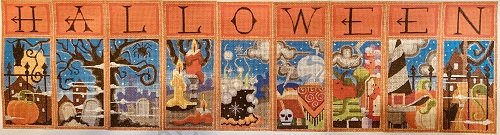 HALLOWEEN STITCH GUIDE COMPLETE SET HW95-103 by Ray Crawford STITCH GUIDE-RCHO-Hsg