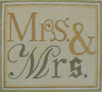 MRS. AND MRS. by Raymond Crawford STITCH GUIDE ONLY RCHO114sg