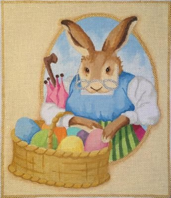 RCHO1420-MOMMA BUNNY WITH EGGS by Ray Crawford