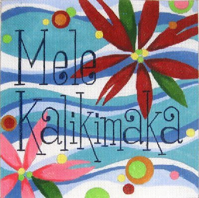 MELE KALILIMAKA by Raymond Crawford Designs STITCH GUIDE  RCHO187sg
