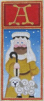 CHRISTMAS A SHEPHERD  by Ray Crawford STITCH GUIDE-RCHO273sg
