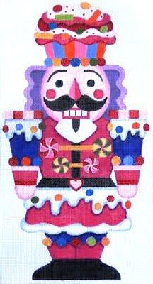 CANDY NUTCRACKER  by Raymond Crawford STITCH GUIDE-RCHO741sg