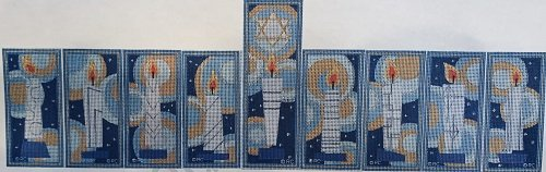 RCHO503-511 COMPLETE SET OF 9 MENORAH CANDLES by Ray Crawford