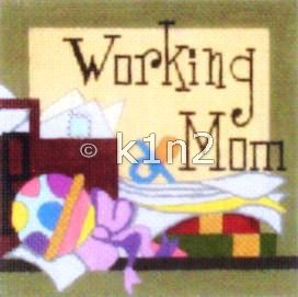 RCQT84-Working Mom by Ray Crawford