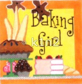 RCQT90-Baking Girl by Ray Crawford