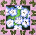 Anemone with Butterflies by Rishfeld Designs RISHSE006