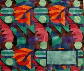 Art Deco Challah Cover by Rishfeld-RISHLL106