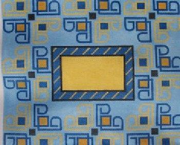 Blue Swirl Tallis Bag by Rishfeld-RISHLL109