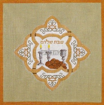 Challah Cover Copper and Olive Judaica by Rishfeld-RISHWP114
