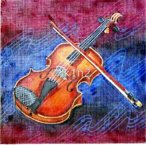 RN040M-VIOLIN by Robbyn's Nest Designs