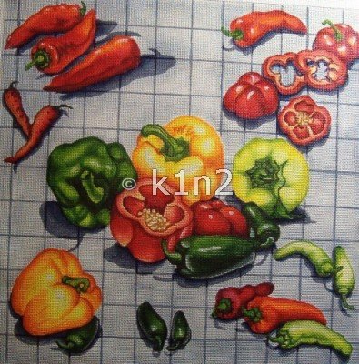 RN393K-PEPPERS by Robbyn's Nest Designs