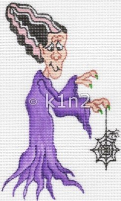 RN492-GHOULIE GIRL by Robbyn's Nest Designs