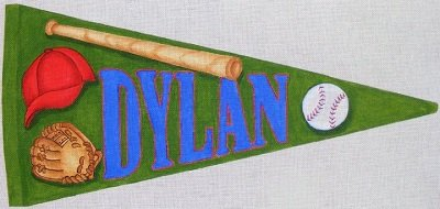 RNCN022-CUSTOM NAME SPORTS BANNER by Robbyn's Nest Designs
