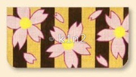 RT707-CHERRY BLOSSOMS PURSE FLAP by Red Thread