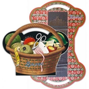 SAJOU BASKET ASSORTMENT TAPESTRY AND SEWING NEEDLES