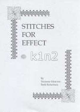 STITCHES for EFFECT  by Howren & Robertson-SFE