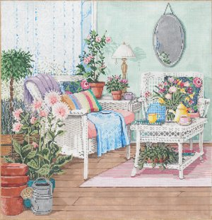 THE CONSERVATORY by Sandra Gilmore  STITCH GUIDE  SG181113sg