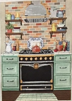 CHEF STATION  by Sandra Gilmore STITCH GUIDE SG181135sg