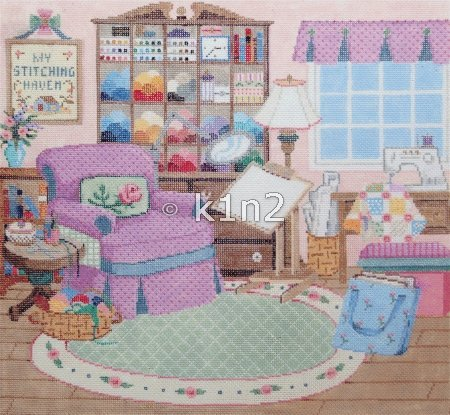 STITCHING HAVEN by Sandra Gilmore  STITCH GUIDE  SG18549sg