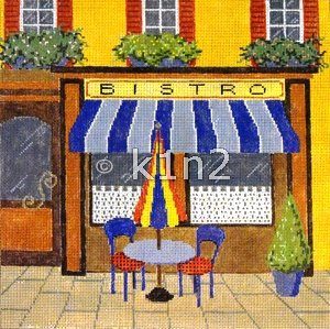 BISTRO by Sandra Gilmore STITCH GUIDE-SG18834sg