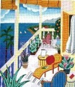 SH1643-VERANDA with OCEAN VIEW by Shelbi