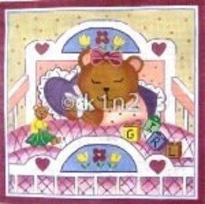 SH1810-BABY BEAR GIRL by Shelbi