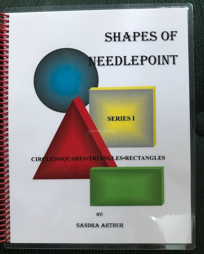 SHAPES OF NEEDLEPOINT I  by Sandra Arthur