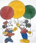 SHMMB-MICKEY and MINNIE with BALLOONS by Shelbi