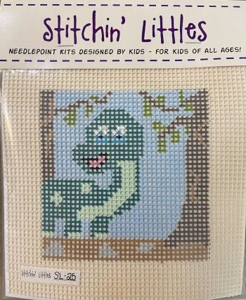 SL25 DYNO MYTE! STITCHIN' LITTLES KIT  by Purple Palm Designs