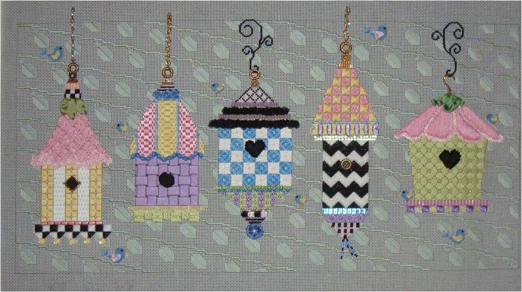 SMF SUMMER BIRDHOUSES with Stitch Guide by Sew Much Fun
