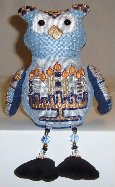 SMF CHANUKAH OWL with Stitch Guide by Sew Much Fun