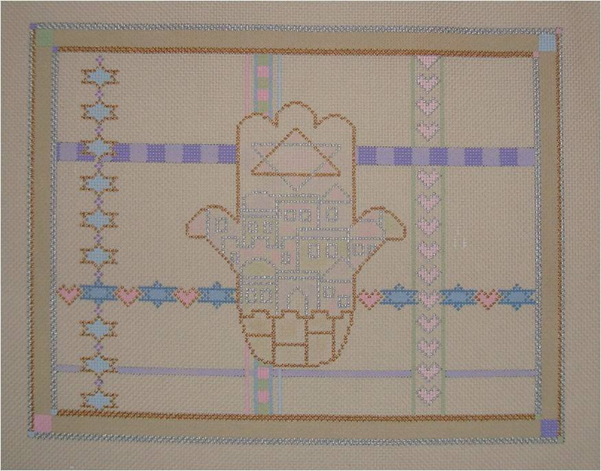 SMFHAMSATB HAMSA TALLIS BAG by Sew Much Fun