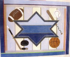 SMFSpTB-Sports Large Tallis Bag by Sew Much Fun