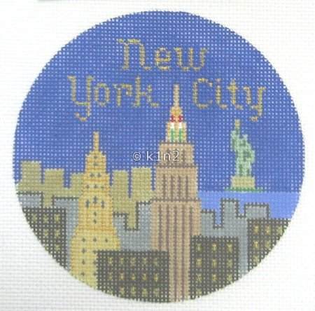 SN342-New York City Ornament by Silver Needle
