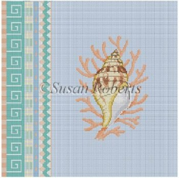 SR1048 Geo Pattern Tulip Shell by Susan Roberts