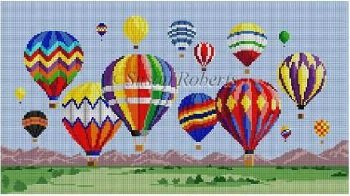 AIR BALLOONS by Susan Roberts Stitch Guide SR1149sg