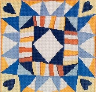 SRC1046 TALL TRIANGLE BORDER by Susan Roberts