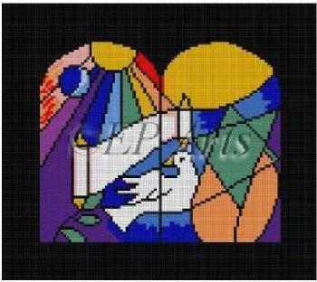 SREP225 JUDAIC HERITAGE TEFILLIN BAG by Susan Roberts