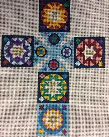 MILLE STELLE DREIDEL by Susan Roberts STITCH GUIDE SREP01916sg