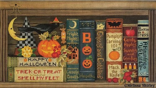 MS2096 HALLOWEEN BOOKS by Melissa Shirley