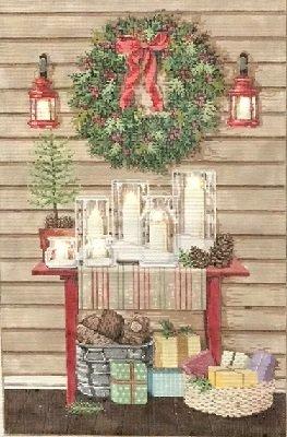 SG141077 CHRISTMAS GLOW by Sandra Gilmore
