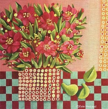 MSEML128 RED BOUQUET and FIGS by Melissa Shirley Designs
